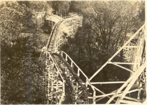 Wild Cat rollercoaster, Hershey Park, ca1923-1930.
