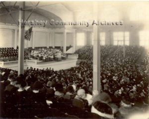 Sistine Chapel ((?) Choir on their first American tour, perform at the Convention Hall, 10/21/1923