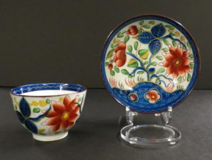 From The Hershey Story's George Danner collection: Gaudy Dutch ceramics, sunflower pattern, 1780-1820