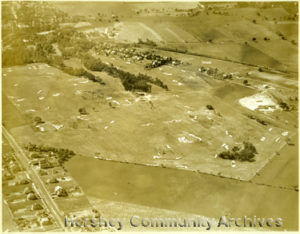 Aerial, Hershey Country Club golf course. ca1930