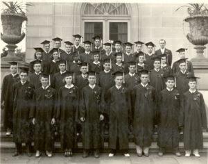 First graduating class, 1940