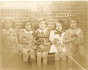 Hershey Zoo, girls holding Lion cubs