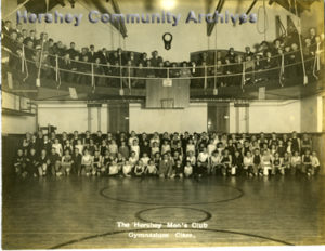 Hershey Men's Club, Gymnasium Class, ca.1914