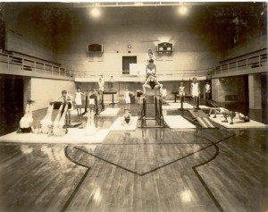 Men's Club Junior Division, Community Building Gymnasium, ca.1935