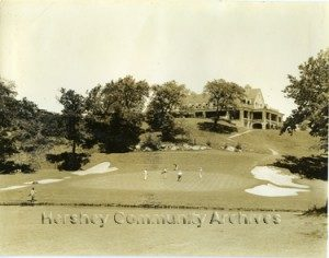 Hershey Park Golf Course, 18th hole. 1935