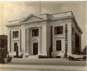 Hershey Trust Company and Hershey National Bank. ca.1935