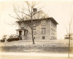 Named for the recently slain United States president, McKinley School enabled the School District to establish a township high school. ca.1906