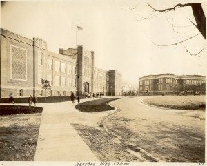 Derry Township School District, Granada Avenue school complex. Hershey Junior-Senior High School in foreground. 1925