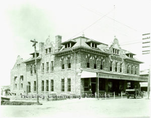 The Cocoa House served as the headquarters for Hershey's Y.M.C.A. ca.1911