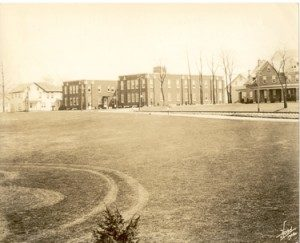 In 1941 Hershey Hospital merged with the Hershey Industrial School Infirmary. It was located on Rt. 322.