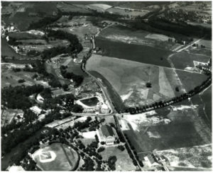 Aerial, Hershey Park (Parkview) golf course, 7/28/1932