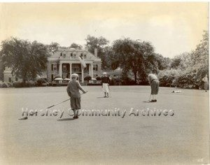 High Point Mansion served as the clubhouse for Hershey Country Club from 1930-1970.