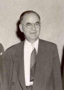 Charles Ziegler, Hershey Estates president. ca.1948-1949