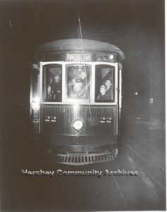 Hershey's trolleys ran for the last time on December 21, 1946.