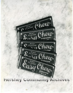 "Hershey's ""Easy Chew"" chewing gum. ca.1915-1917"