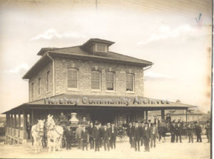 Hershey Volunteer Fire Company was organized in 1905.