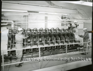 "An example of a ""Carver"" press. ca.1950-1960"