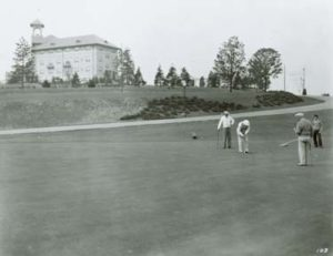 The Hotel Hershey's executive golf course. ca1935-1950