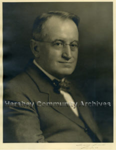 John Snyder, legal counsel to Milton S. Hershey. ca.1915-1930