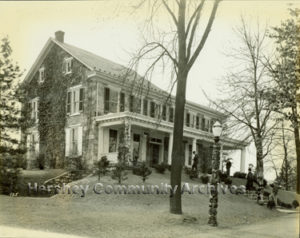 Hershey's first museum was located on E. Derry Road, not far from Hershey Park. ca 1933-1938