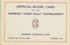Hershey Country Club sponsored the