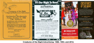 Contemporary records illustrate how ZooAmerica's Creatures of the Night has evolved since its beginning.