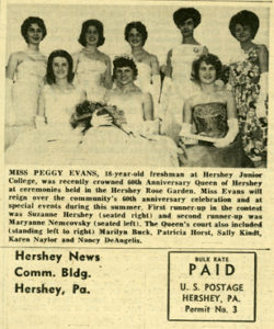 Hershey News, front page, 5/5/1963