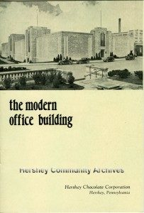 Printed for the building's open house, the booklet described many of the bulding's unique features. 1935