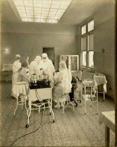 Hershey Hospital, operating room. ca.1934