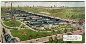 Hershey Chocolate factory, birdseye view. ca.1909
