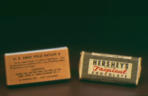 Ration D bar and Tropical Chocolate