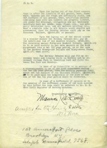In 1928 Milton Hershey hired golf architect, Maurice McCarthy to design two golf courses for Hershey. page 2 of 2.