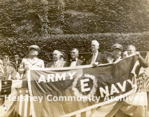 Army-Navy 'E' Award ceremony, August 27, 1942
