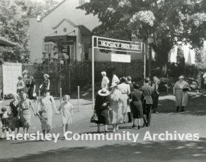 Entrance to Hershey Park Zoo, ca. 1934-1941