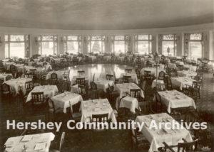 Hotel Hershey Circular Dining Room, 1934