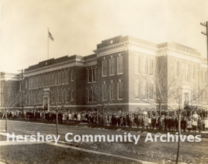 Dedication of the M.S. Hershey Consolidated School, 1914