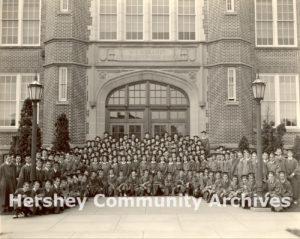 Hershey Junior-Senior High School graduating class, ca. 1925-1950