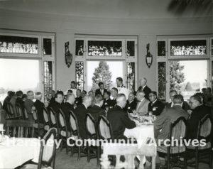 Circular Dining Room, Hotel Hershey, October 21, 1958