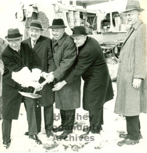 Groundbreaking for The Milton S. Hershey Medical Center, February 26, 1966