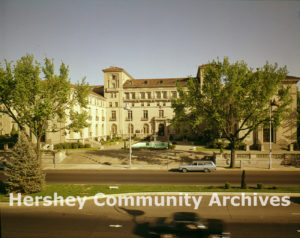 Hershey Community Building, located on the corner of Chocolate and Cocoa Avenues, 1970