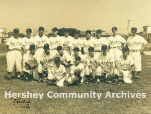Central Hershey baseball team, March 4, 1956