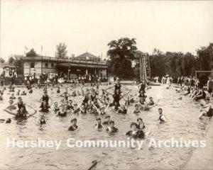 Hershey Park Swimming Pool, 1914