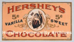 Hershey Chocolate Company advertisement, 1898