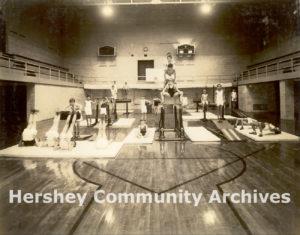 Men's Club Junior Division, Community Building Gymnasium, ca. 1935