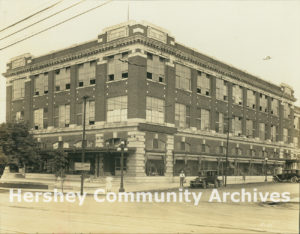 Hershey Department Store opened to the public on December 2, 1920.