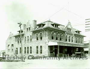 Hershey's Men's Club was located in the Cocoa House on Chocolate Avenue, ca. 1910