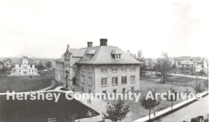 Hershey's Central Theater was located in the former McKinley School, ca. 1915