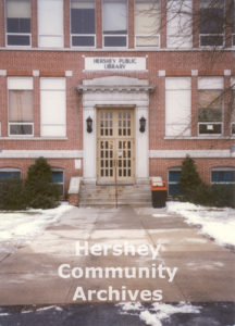 Hershey Public Library moved to the former M.S. Hershey Consolidated School on East Granada Avenue in 1981.
