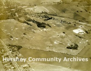 Aerial, Hershey Country Club golf course, ca. 1930