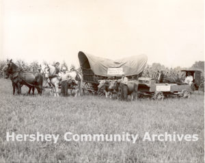 Hershey's Dutch Days celebrated the crafts and traditions of the Pennsylvania German community, August 21-23, 1952